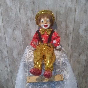 Vintage Clown on Swing